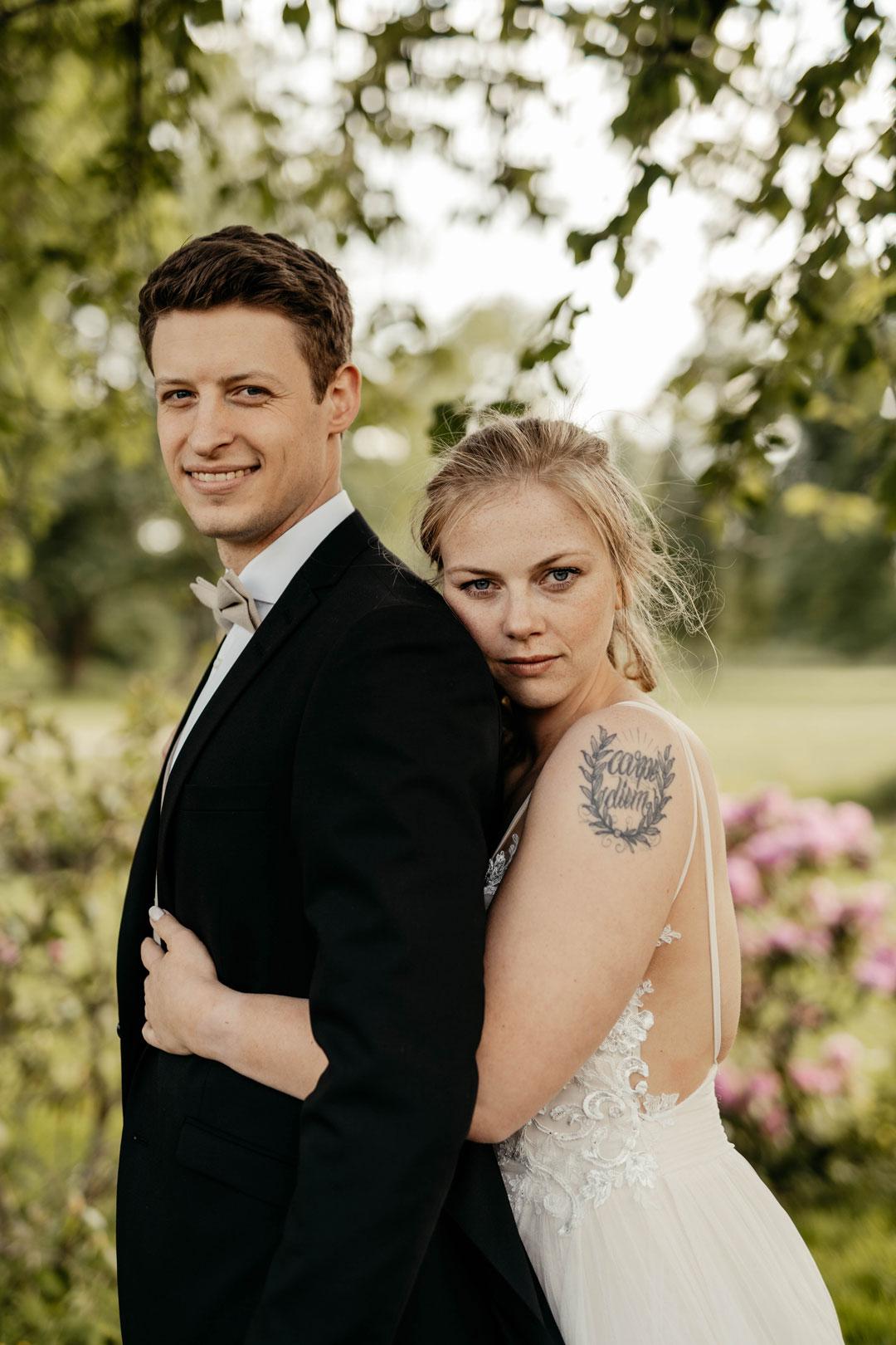 Brautpaar fotografie Schloss Myllendonk