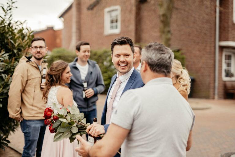 Brautpaar Bräutigam