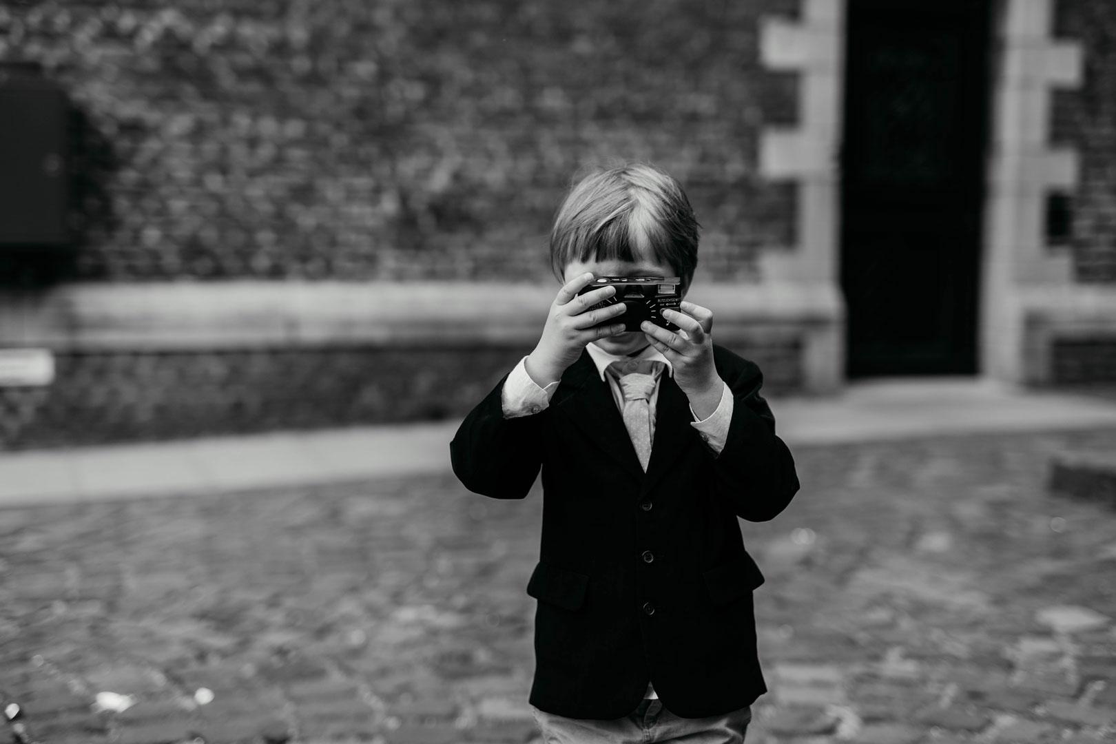 Fotografie Schwarz Weiß Portrait